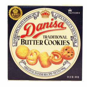 Danisa 皇冠丹麦曲奇饼干 90g 4.5元