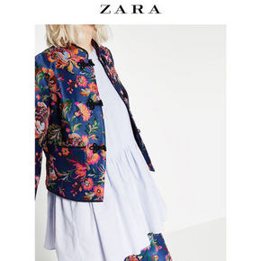 ZARA TRF 女装 花朵印花夹克 179元