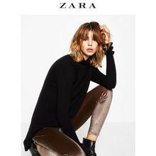 ZARA 女装天鹅绒紧身裤 39元包邮