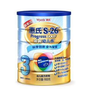 惠氏 S-26金装幼儿乐幼儿配方奶粉 900g 119元
