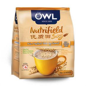 OWL 猫头鹰四合一燕麦片 15条525g 折9.6元(双重优惠)