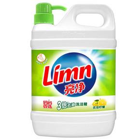 亮净 妈妈壹选 洗洁精 去油柠檬 1.3kg 折6.9元(买1送1)