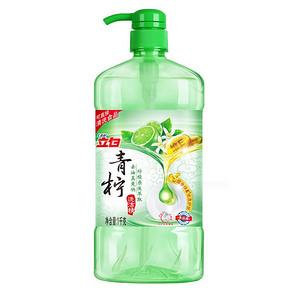 立白 青柠洗洁精 1kg 折7.9元(买1送1)