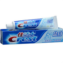 佳洁士  盐白牙膏 90g 3.9元(可199-100)