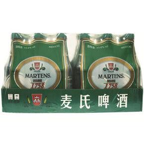 麦氏 1758 10°P 醇厚啤酒 660ml*24瓶 59元