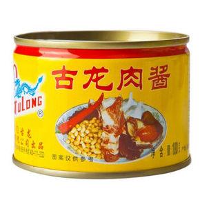 古龙 方便速食罐头 180g 5.5元