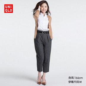 限s码# UNIQLO 优衣库 女装牛津纺衬衫 79元