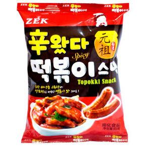 韩国进口 ZEK 辣炒年糕条 85g 折4元(99-50)