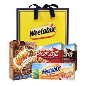 Weetabix 维多麦 谷物早餐甄选礼盒 942g 折18.1元(双重优惠)