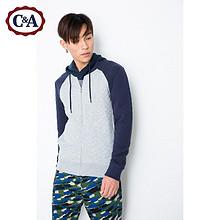 C&A 男式拼接袖棒球服 89元包邮