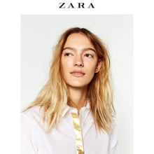 ZARA 女士府绸衬衫 79元包邮
