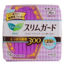 乐而雅 瞬吸超薄 零触感丝薄 夜用卫生巾 15片*3包 55.6元(买3免1)