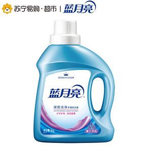 蓝月亮 深层洁净护理洗衣液 1kg 折9.9元(买2免1)