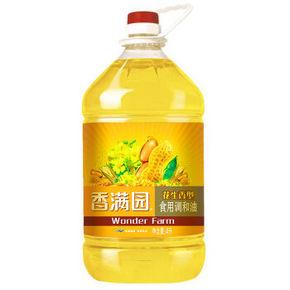 香满园 花生香型食用调和油4L 29.9元