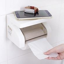 可放手机# 金兴 免打孔卫生间纸巾架 9.9元包邮(12.9-3券)