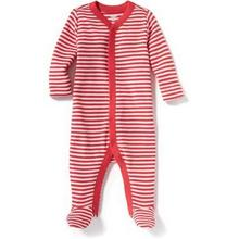 Old Navy 婴儿纯棉条纹 连袜睡衣 45元包邮