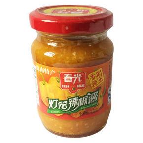海南特产 春光 香辣灯笼辣椒酱 150g 6.9元