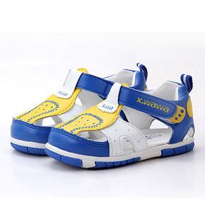 哈休 宝宝夏季软底防滑学步鞋*2双 24.8元包邮(19.9*2-15券)