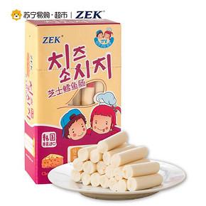 健康美味# ZEK 芝士鳕鱼肠 300g*2盒*2组 39.8元