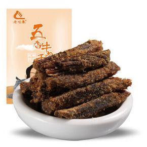 老川东 五香味牛肉干 100g 13.9元