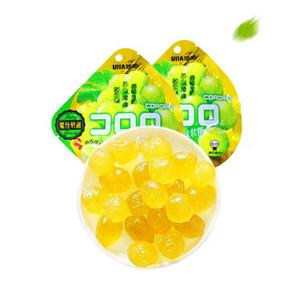 CORORO 悠哈 白葡萄味软糖 52g*2袋 折12.5元(25,买1送1)