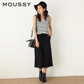 MOUSSY 女士日系修身无袖连衫裤 159元