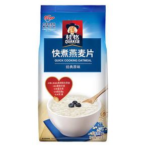 桂格 快煮燕麦片 700g 8.8元(可99-30)