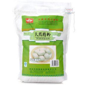 风筝 天然中筋小麦面粉 2.5kg 折12.6元(15.8,3件8折)