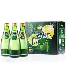 Perrier巴黎水 原味柠檬青柠330ml*6瓶装 29元