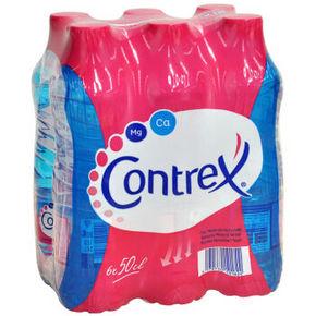 法国进口 康婷(Contrex)矿翠矿泉水500ml*6 29元