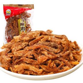 来伊份肉干肉脯 休闲零食 猪肉丝手撕肉条278g 折15.6元