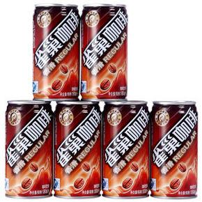 雀巢咖啡(香滑)罐装 180ml*6联包 18.9元