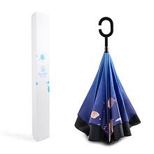 便民设计# 宝迪妮 反向双层免持式雨伞 49.9元包邮(59.9-10券)