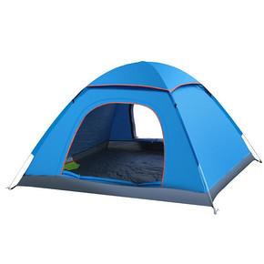 盛源 帐篷户外双人多人双门自动帐篷 48元包邮