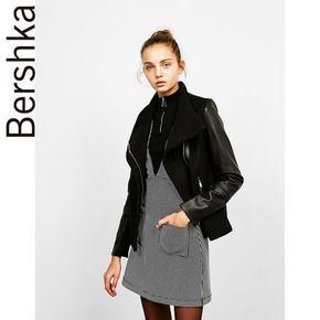 Bershka BSK 女士羊毛混纺外套 54元(59-5券)