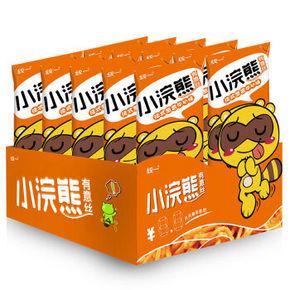 统一 小浣熊 有意丝 葱香牛扒味 30g*10袋 9.9元