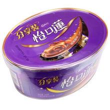 怡口莲 巧克力味夹心太妃糖 经典原味200g*5件 50元(100-50)