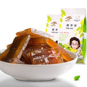 姚太太 休闲零食 酸枣糕208g 折7.8元