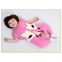 家有萌娃# 儿童纯棉睡袋 可拆袖分腿 29.9元包邮(49.9-20券)