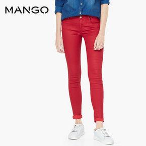 mango 女士紧身牛仔裤 79元