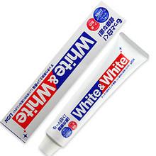 Lion 狮王 white&white 多效美白牙膏 150g 11.8元(9.9+1.9)