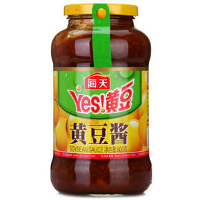 海天 黄豆酱调味豆瓣酱 800g 9.9元