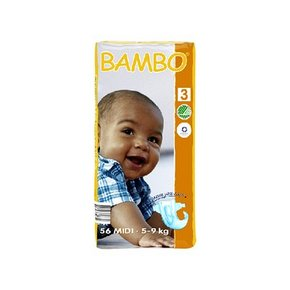 BAMBO 班博 经典系列3号 S码 56片装 56元(49+7)