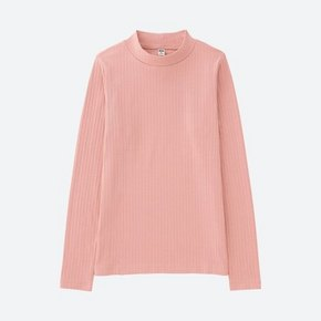 多色可选# UNIQLO 优衣库 女士罗纹高领长袖T恤 59元包邮