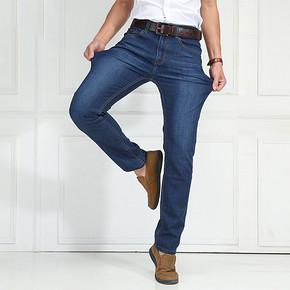 战地吉普 男士加厚直筒牛仔裤 59元包邮(79-20券)