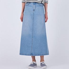 GU 极优 女士牛仔长裙 79元