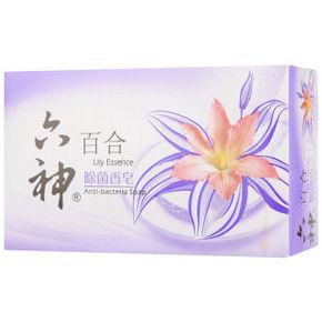 六神 除菌香皂 百合 90g 2.5元