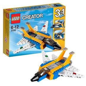 乐高 创意百变系列  超级滑翔机 折57.2元(65,2件88折)