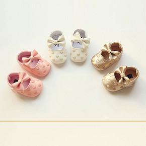 DIBELE 丁贝乐 女婴可爱软底学步鞋 29元包邮(39-10券)
