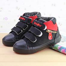 一休 儿童加厚加绒保暖帆布鞋 19.9元包邮